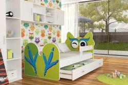 Birdie leesésgátlós gyerekágy ágyneműtartóval 2.Kép