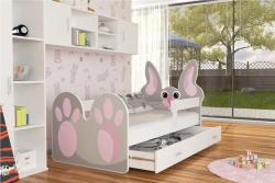 Bunny leesésgátlós gyerekágy ágyneműtartóval 2.Kép