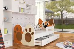 Doggy leesésgátlós gyerekágy ágyneműtartóval 2.Kép