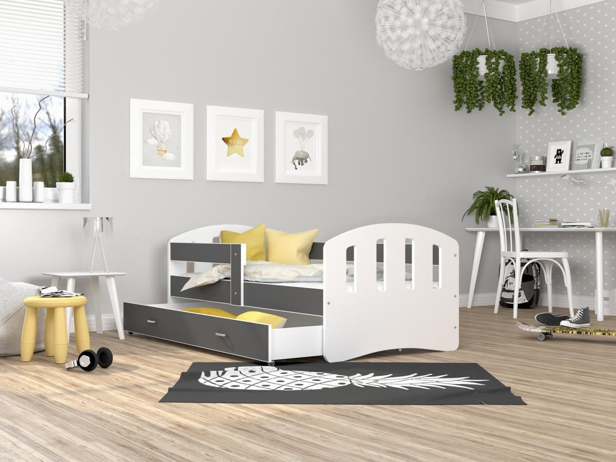 Happy leesésgátlós gyerekágy ágyneműtartóval