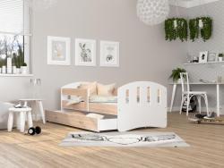 Happy leesésgátlós gyerekágy ágyneműtartóval 3.Kép