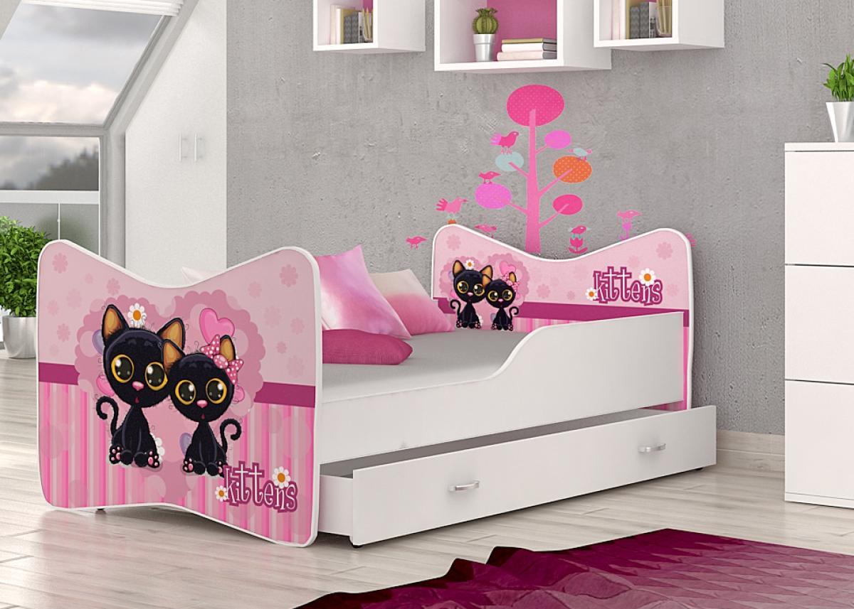 Kevin gyerekágy ágyneműtartóval