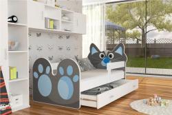 Kitty leesésgátlós gyerekágy ágyneműtartóval 2.Kép