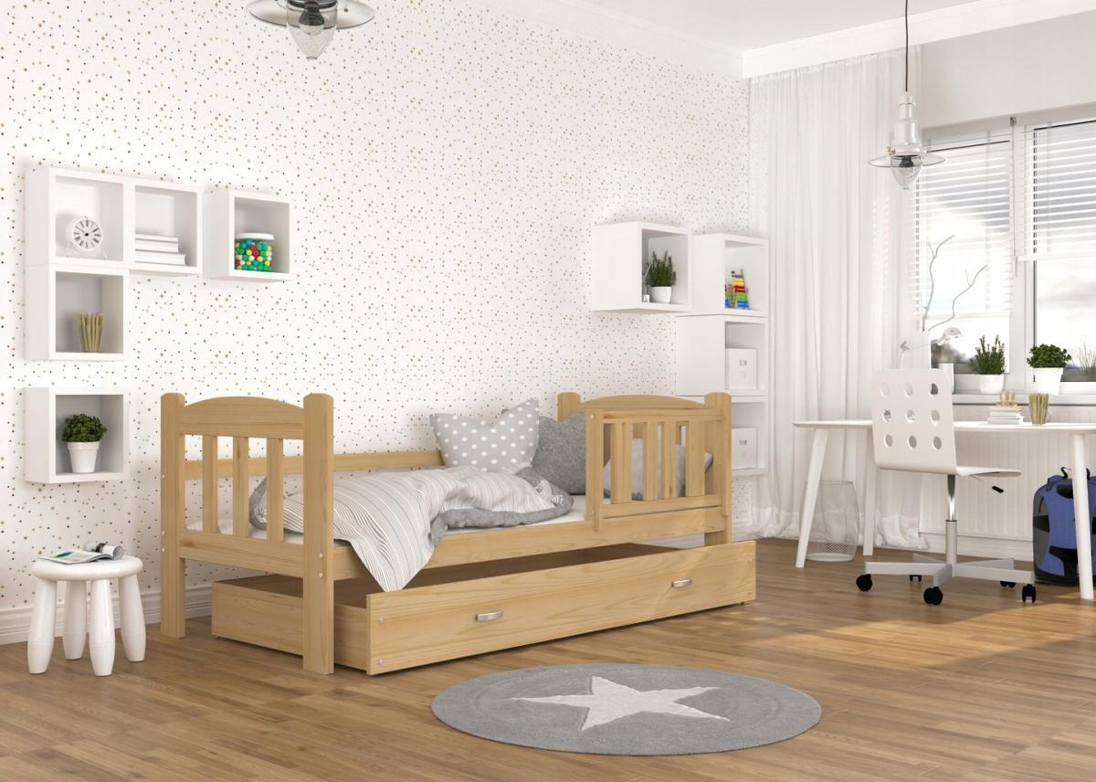 Alan Fa leesésgátlós gyerekágy ágyneműtartóval