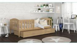 Bobby1 Fa leesésgátlós gyerekágy ágyneműtartóval 2.Kép