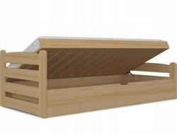 David Fa felfelé nyíló gyerekágy ágyneműtartóval 3.Kép