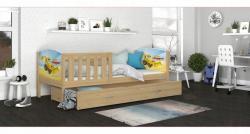 Tony1 Fa leesésgátlós gyerekágy ágyneműtartóval 2.Kép
