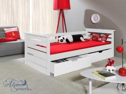 KALA tömör fa gyerekágy ágyneműtartóval 2.Kép