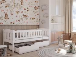 GUCIO tömör fa leesésgátlós gyerekágy ágyneműtartóval 5.Kép
