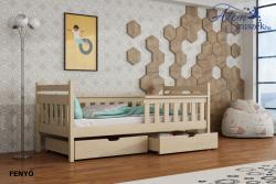 EMMA tömör fa leesésgátlós gyerekágy ágyneműtartóval 3.Kép