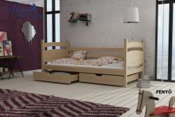 ANDY tömör fa leesésgátlós gyerekágy ágyneműtartóval 2.Kép
