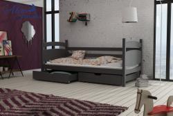 ANDY tömör fa leesésgátlós gyerekágy ágyneműtartóval 3.Kép