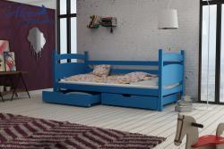 ANDY tömör fa leesésgátlós gyerekágy ágyneműtartóval 4.Kép