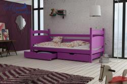 ANDY tömör fa leesésgátlós gyerekágy ágyneműtartóval 5.Kép