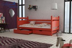 ANDY tömör fa leesésgátlós gyerekágy ágyneműtartóval 6.Kép