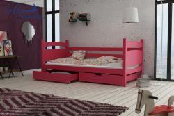 ANDY tömör fa leesésgátlós gyerekágy ágyneműtartóval 7.Kép