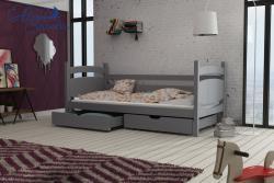 ANDY tömör fa leesésgátlós gyerekágy ágyneműtartóval 8.Kép