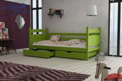 ANDY tömör fa leesésgátlós gyerekágy ágyneműtartóval 10.Kép