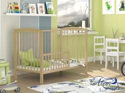 ADA cserélhető korlátos babaágy ágyneműtartóval 4.Kép