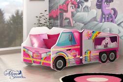 TRUCK Autós Gyerekágy 4.Kép