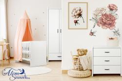 AMELIA FEHÉR babaágy ágyneműtartóval 1.Kép