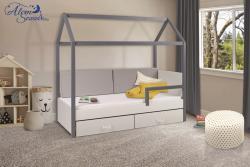 OFELIA 2 házikó alakú gyerekágy ágyneműtartóval 2.Kép