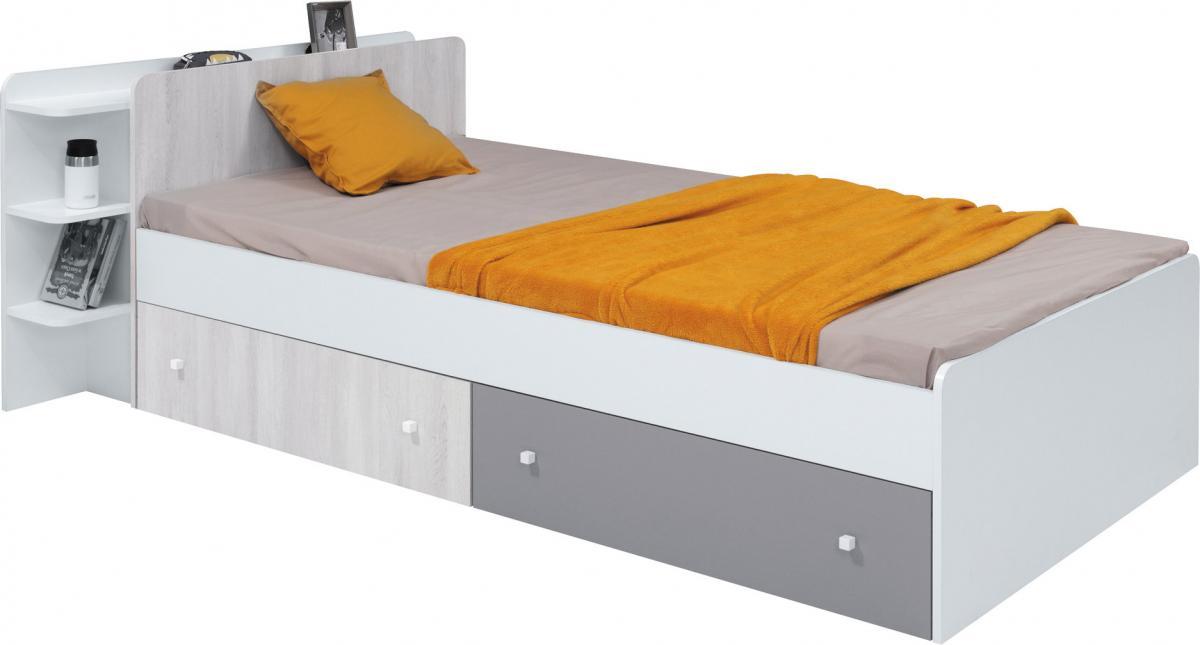 COMO gyerekágy ágyneműtartóval