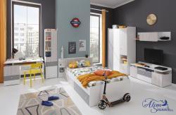 COMO gyerekágy ágyneműtartóval 8.Kép